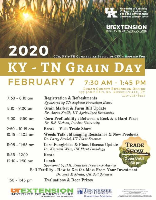 2020 KY-TN Grain Conference Flyer rd