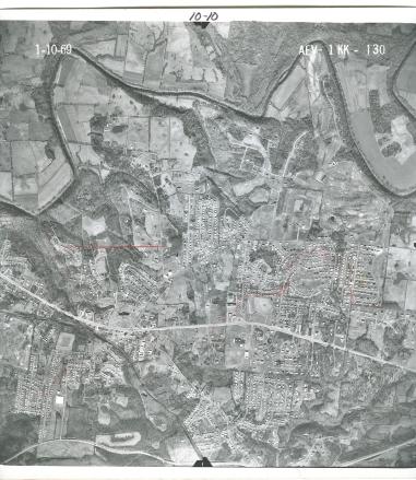 Aerial Photo 1969 10-10
