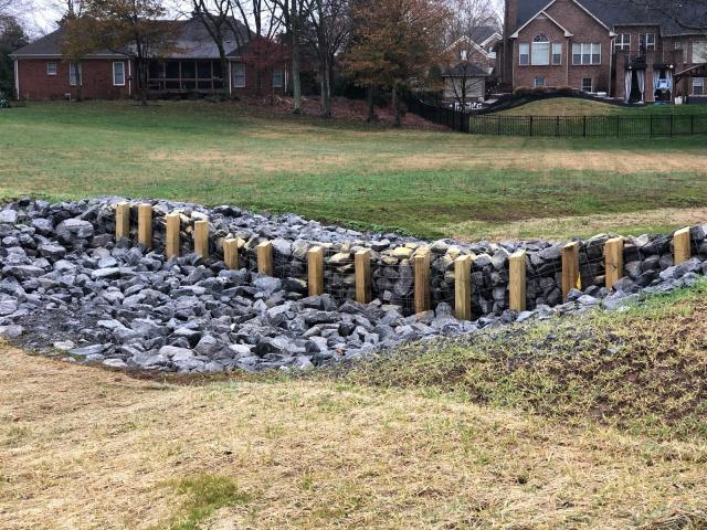 1Completed Grade Stabilization and Grass Waterway.